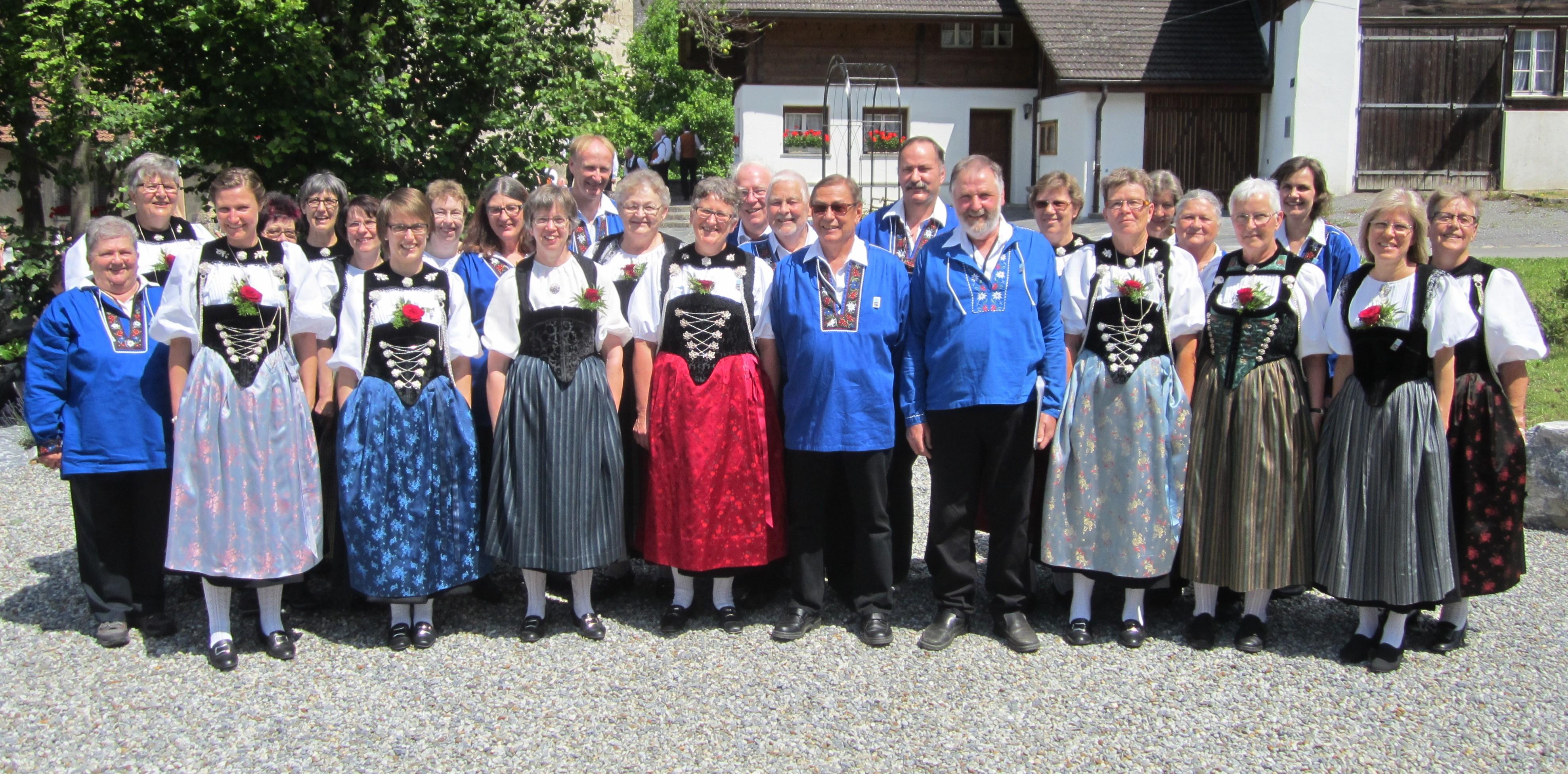 Sängerfründe in Meiringen