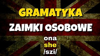 Zaimki osobowe angielski gramatyka Elang