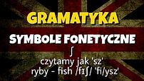 Fonetyka angielski  transkrypcja fonetyc