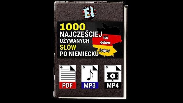 1000 najczęściej używanych słów w języku niemieckim po niemiecku dla początkujących skutec