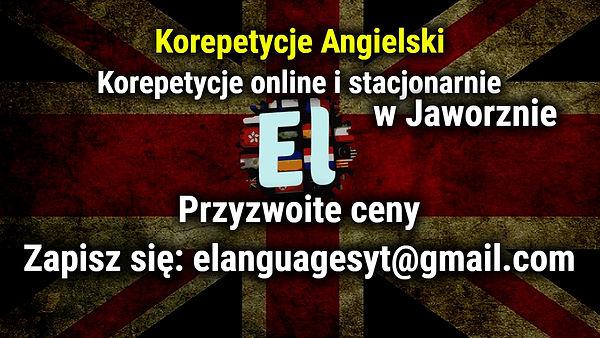 Korepetycje w Jaworznie i online angiels