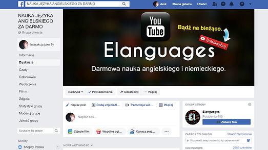 Facebok angielski online