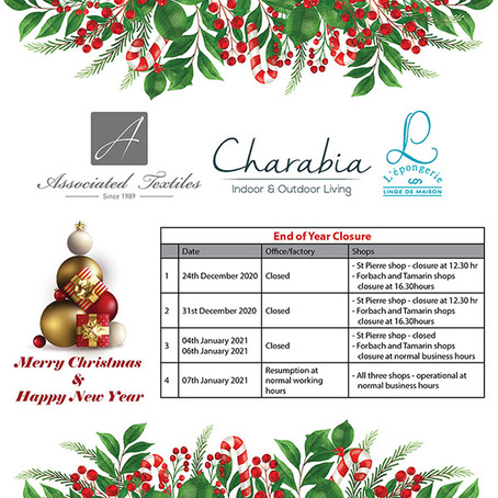 End Of Closure – Merry Christmas & Happy New Year
