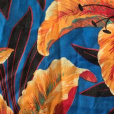 13F. Orange Hibiscus