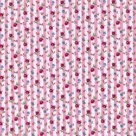 14F. Sweet Rose Stripes