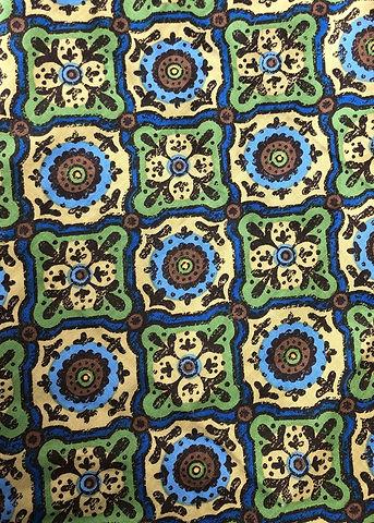 8E. Green and Blue Mosaic