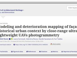 Home Drone - Mappatura di modelli e deterioramento delle facciate nel contesto urbano storico median