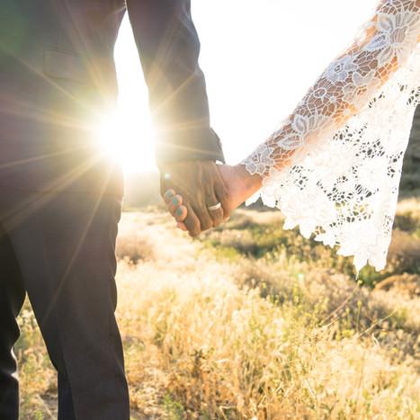 Bride and groom - outdoor wedding sussex