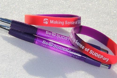 Be SUDEP Aware pen x 30