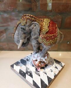 indian elephant circus cake