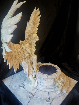 Angel Wedding cake