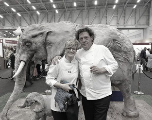 Marco Pierre White with Dot