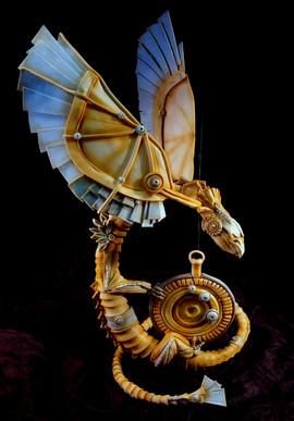 steampunk dragon cake