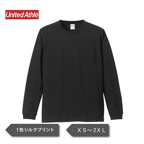 UnitedAthle 5.6オンス ロングスリーブTシャツ(1.6インチリブ)5011-01