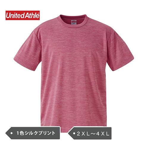 【DRY】【2XL・3XL・4XL】紫外線カット UnitedAthle 5900-01 4.1オンス ドライアスレチック Tシャツ