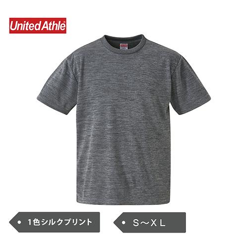【DRY】UnitedAthle 4.1oz ドライアスレチック Tシャツ 5900-01