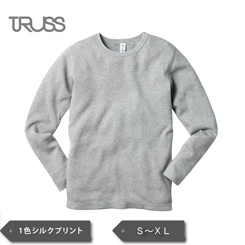 TRUSS ワッフル ロングスリーブTシャツ TML-130