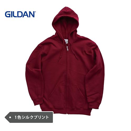GILDAN 8oz フルジップパーカー F1860