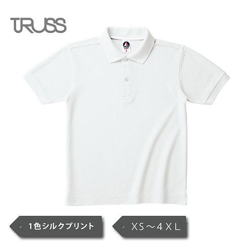 TRUSS  VSN-267 ベーシックスタイル ポロシャツ