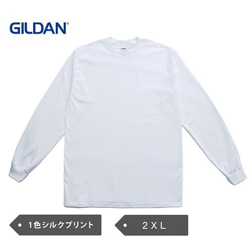 【2XL】GILDAN 6oz ウルトラコットン 長袖Tシャツ GILD-T2400