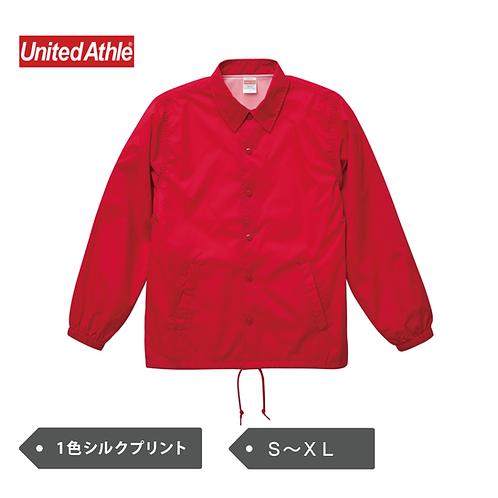 UnitedAthle ナイロンコーチジャケット(裏地付き) 7059-01