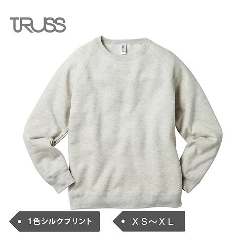 TRUSS 7.1oz トライブレンド クルーネックスウェット TRW-139