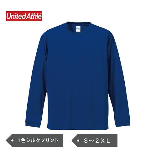UnitedAthle 5089-01 4.7オンス ドライ シルキータッチ ロングスリーブ Tシャツ(ローブリード)