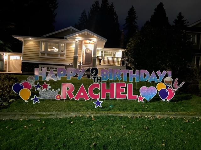 HBD Rachel!