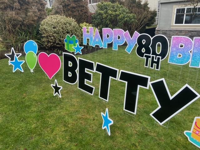 BETTY's 80th
