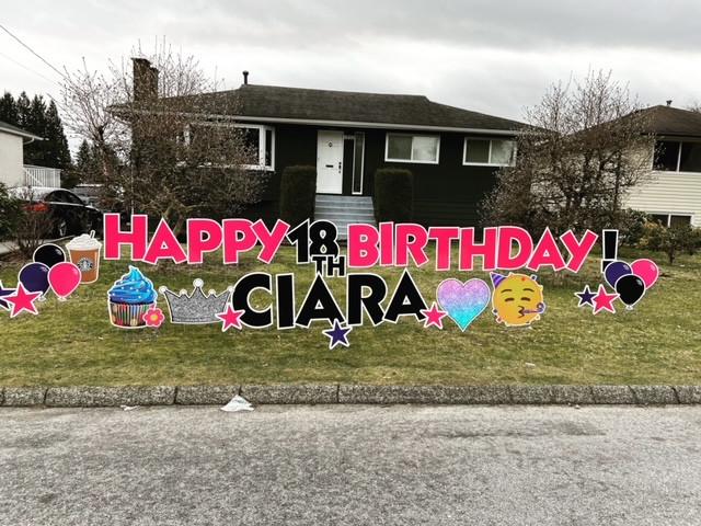 CIARA's 18th