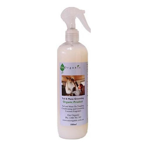 Ozz Organics Tail & Mane Grooming  (good for dogs and kids) 500ml