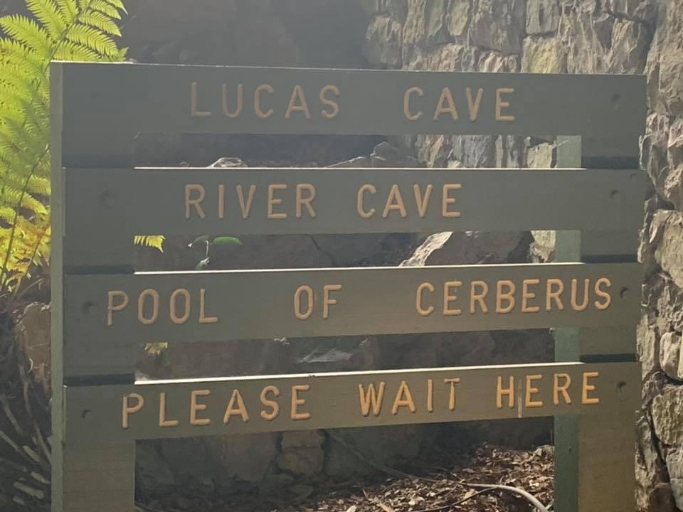 Jenolan Caves Pool Of Cerberus entrance.