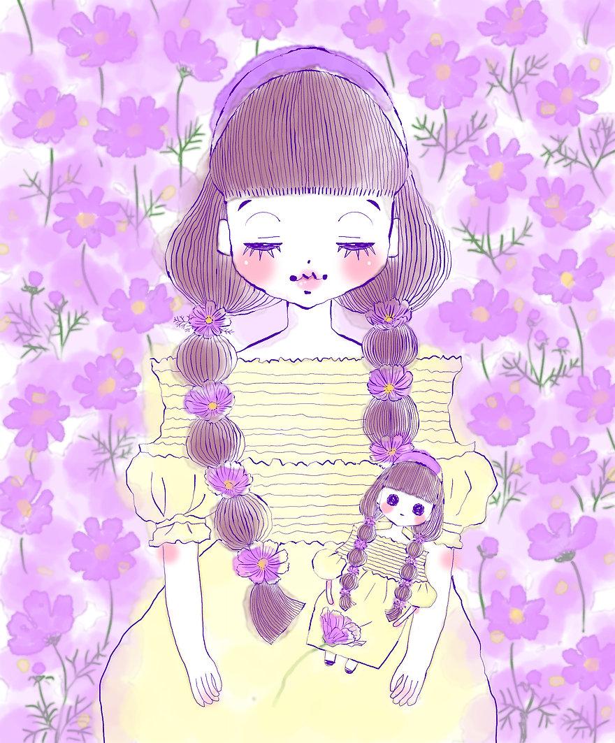 コスモスの少女2.jpg