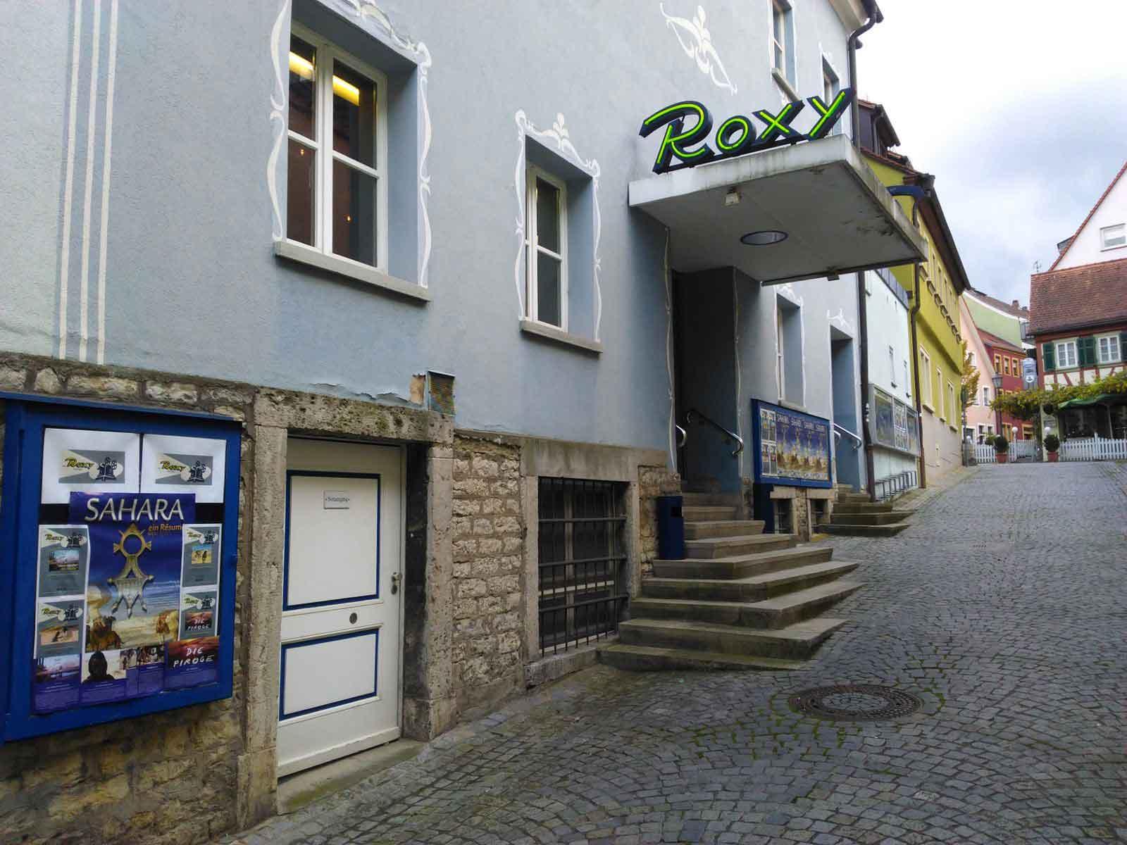 Roxy-Eingang