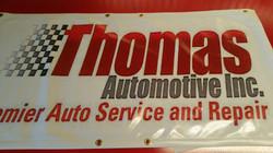 Thomas auto banner