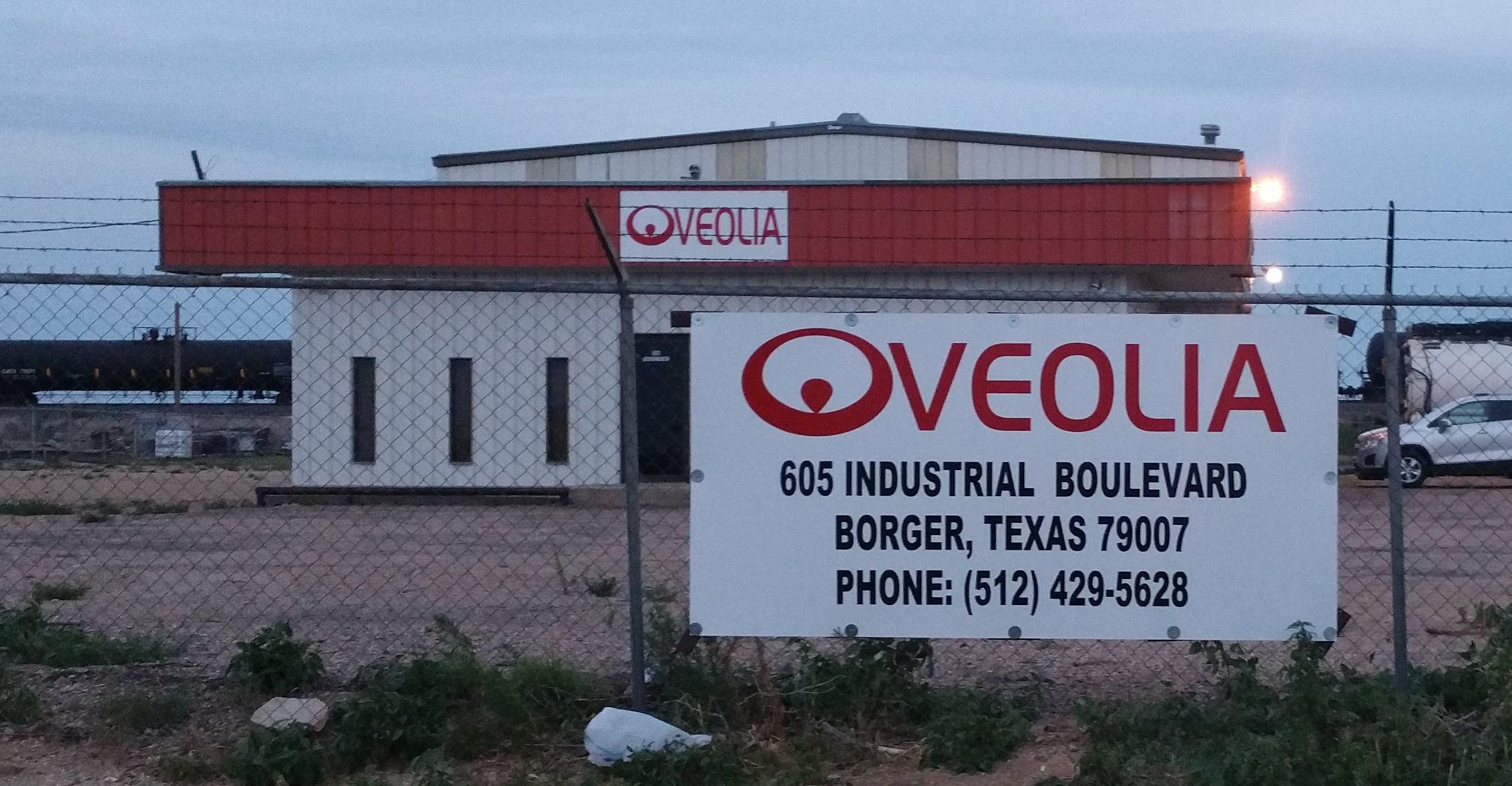Veolia signs