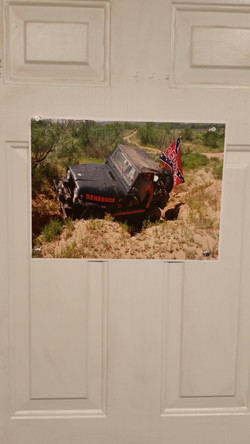 poster Tony's jeep