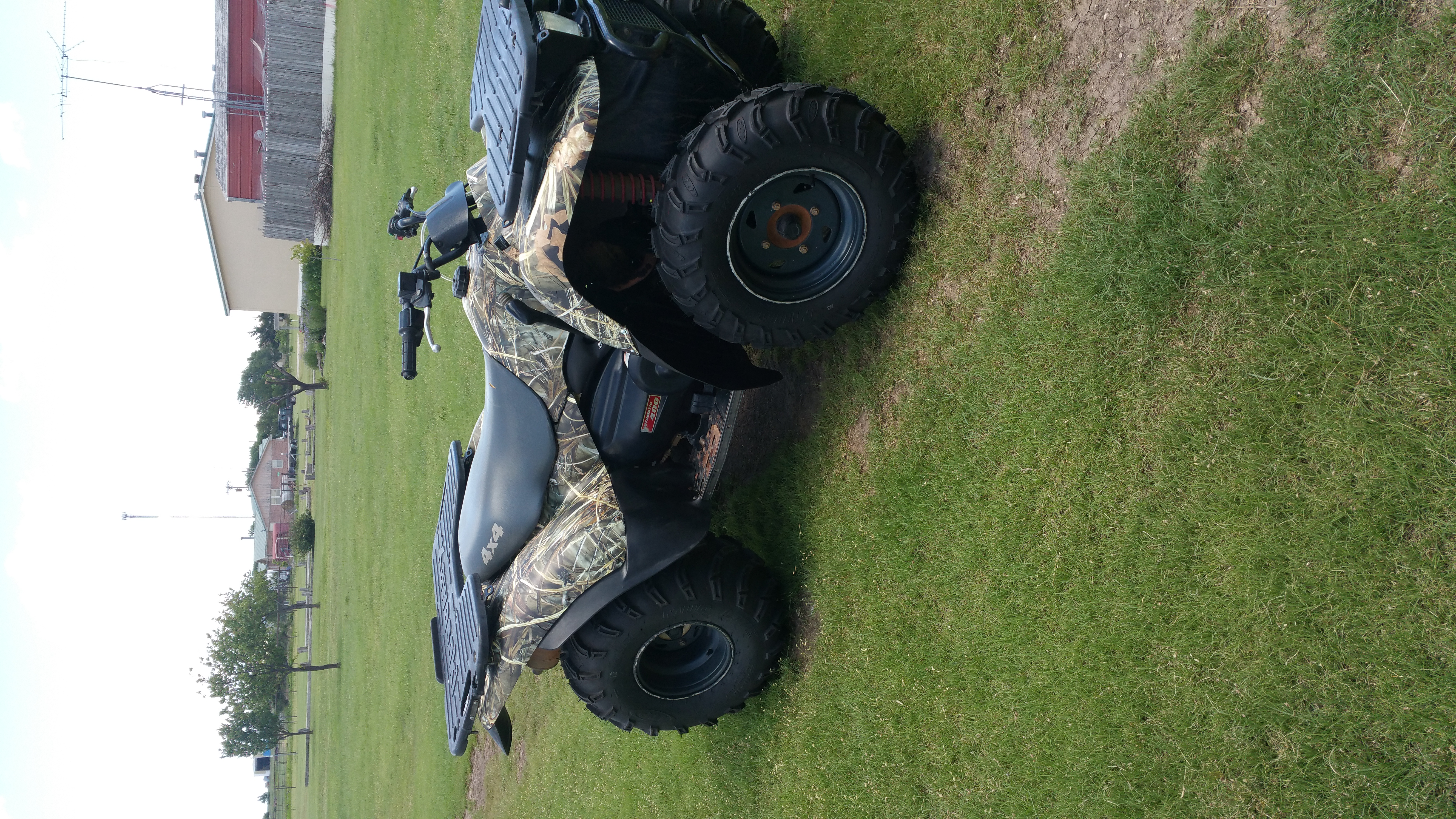 four wheeler wrap