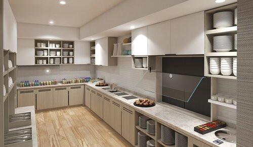 Metropark Hyatt House - Kitchen