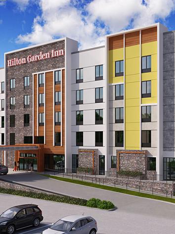 Hilton Garden Inn - Rendering