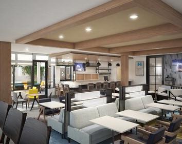 2Metropark Hyatt House - Lounge