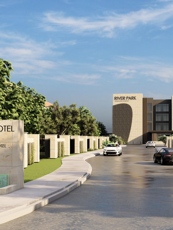 River Park Hotel - Green Oaks Entry