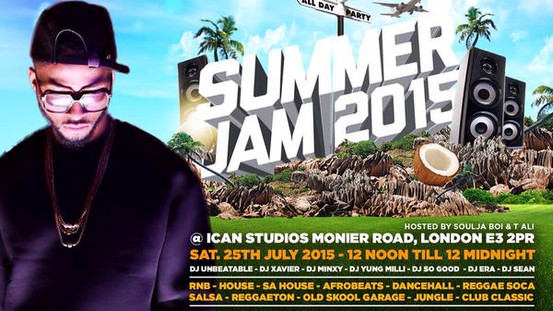 Mazi Chukz set to perform at Spring Break Ldn's Summer Jam 2015