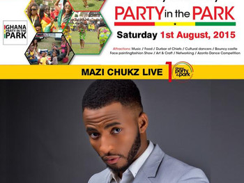 Mazi Chukz for Ghana Party in the Park 2015