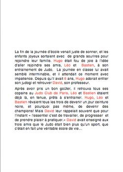 Première page de texte