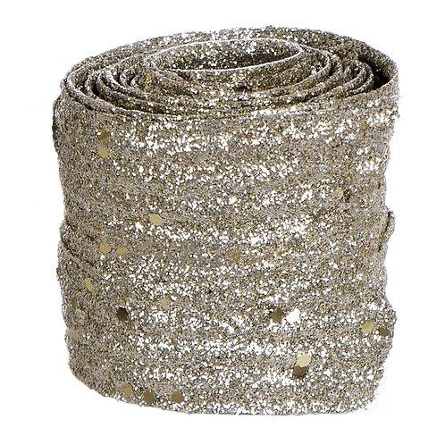 シルバー装飾リボン Velvet