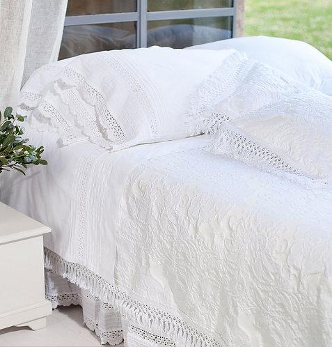 ベッドカバー Ana ホワイト