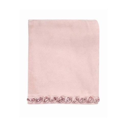 ブランケット Small Rose ピンク 140x170