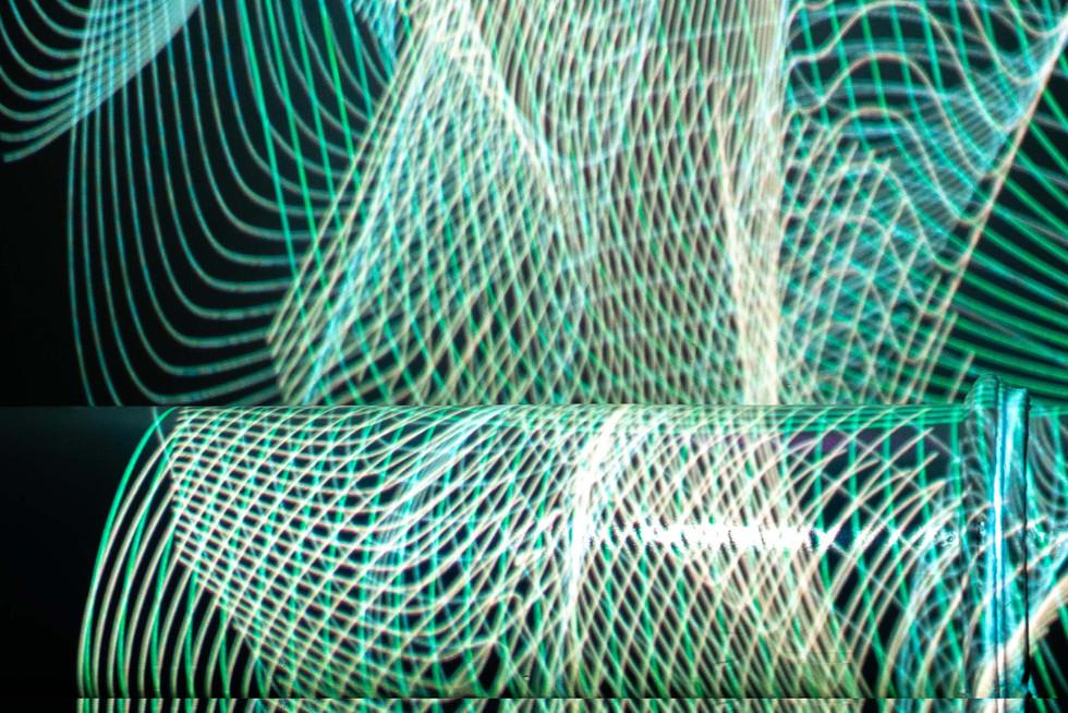 Run Lola Run timeline Collage Projection Photoshoot
