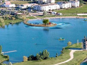 Le lac des Dagueys veut devenir un spot de surf